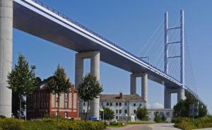 Straßenverbindung von Stralsund nach Rügen - Rügendamm
